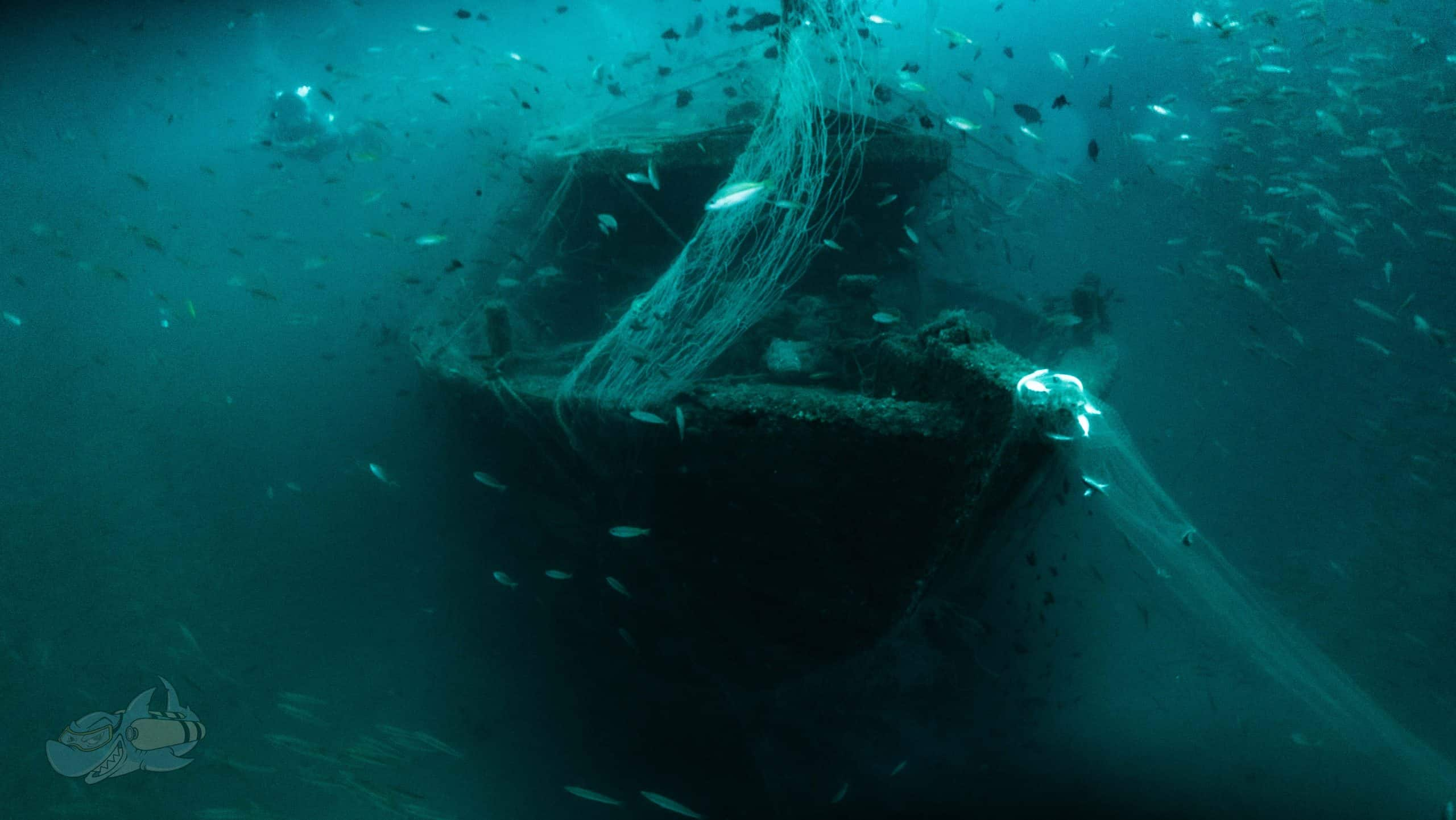 Wreck diving in India