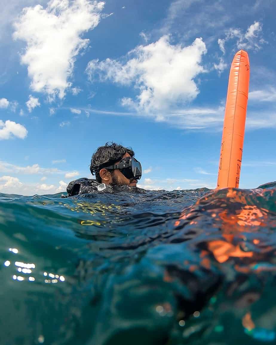 dive safety gear