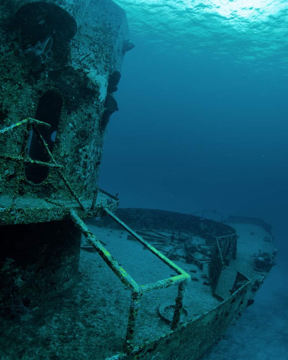 wreck diving course