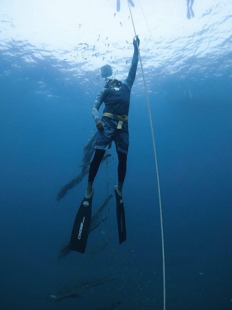 freediving in India